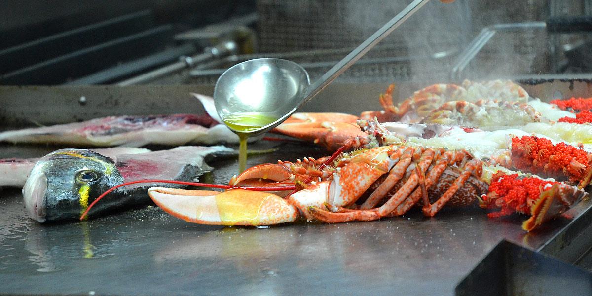 homard-plancha